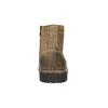 Členková kožená obuv bata, hnedá, 893-3653 - 17
