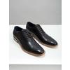 Celokožené Oxford poltopánky bata, čierna, 824-6414 - 18