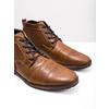 Kožená členková obuv so zipsom bata, hnedá, 826-3911 - 18
