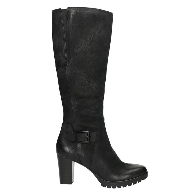 Dámske čižmy bata, čierna, 796-6601 - 15