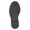 Dievčenské čižmy s cvočkami mini-b, čierna, 291-6398 - 17