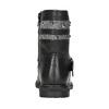 Dievčenské čižmy s cvočkami mini-b, čierna, 291-6398 - 16
