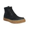 Pánska kožená členková obuv bata, modrá, 843-9631 - 13