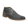 Pánska kožená členková obuv bata, modrá, 826-9920 - 13