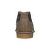 Pánska kožená členková obuv bata, modrá, 826-9920 - 16