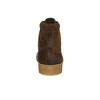 Hnedá kožená členková obuv bata, hnedá, 843-3632 - 17