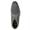 Pánska kožená členková obuv bata, modrá, 826-9920 - 15