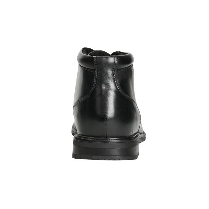 Kožená členková obuv rockport, čierna, 894-6036 - 16