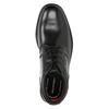 Kožená členková obuv rockport, čierna, 894-6036 - 15