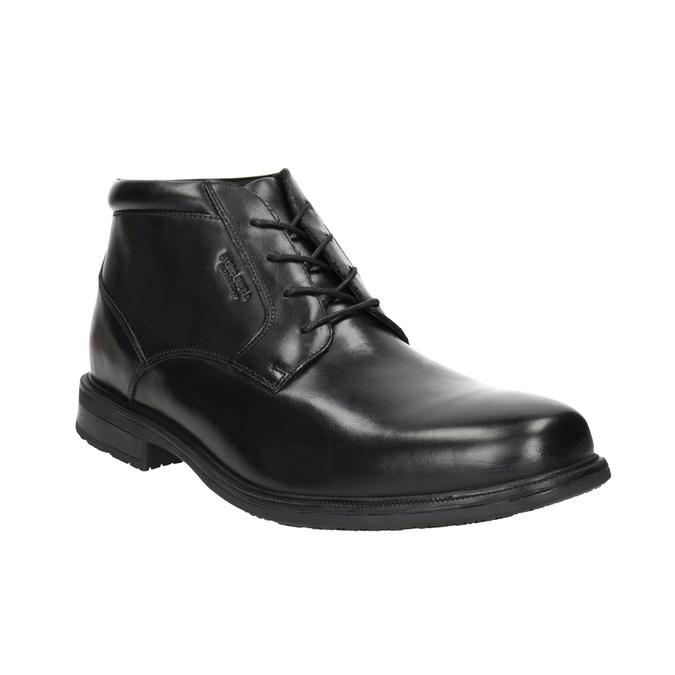 Kožená členková obuv rockport, čierna, 894-6036 - 13
