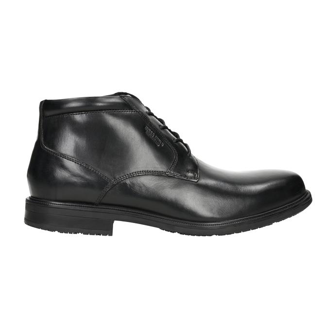 Kožená členková obuv rockport, čierna, 894-6036 - 26
