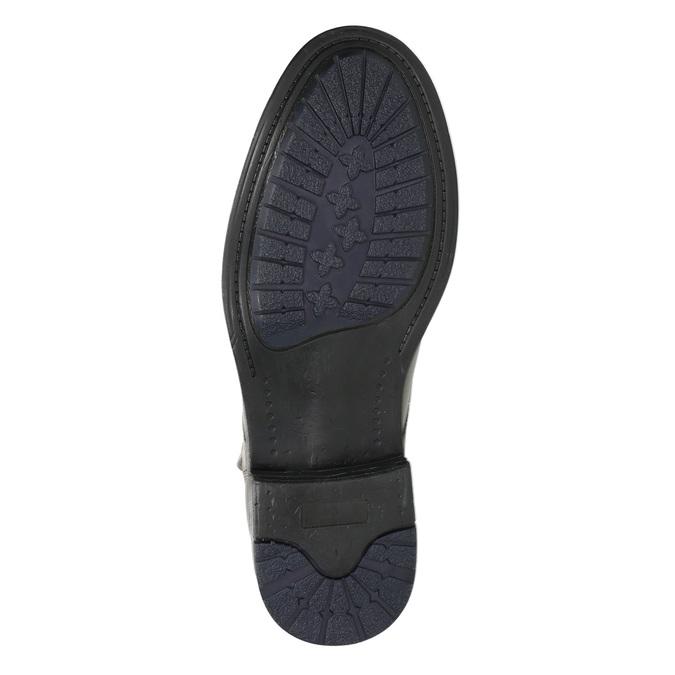 Členková pánska Ombré obuv bata, šedá, 896-2684 - 19