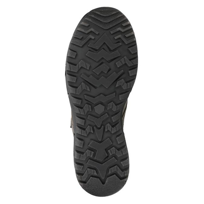 Kožená obuv v Outdoor štýle weinbrenner, šedá, 896-2671 - 17