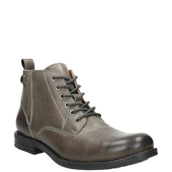 Členková pánska Ombré obuv bata, šedá, 896-2684 - 13