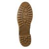 Členková obuv s kožúškom bata, hnedá, 691-2633 - 19