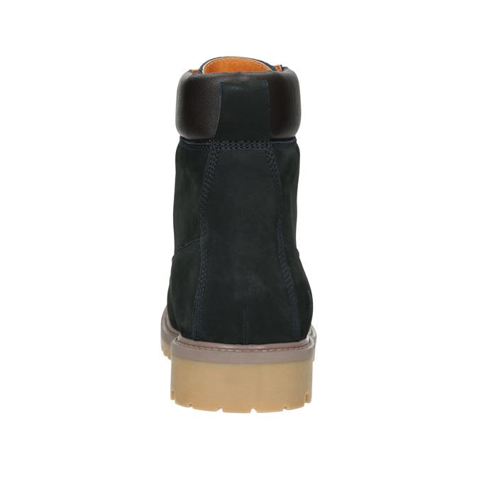 Členková obuv s masívnou podrážkou weinbrenner, modrá, 896-9669 - 16