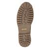 Pánska  členková obuv s kožúškom weinbrenner, hnedá, 896-4670 - 17