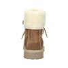 Pánska  členková obuv s kožúškom weinbrenner, hnedá, 896-4670 - 16