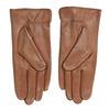 Hnedé kožené rukavice bata, hnedá, 904-3129 - 16
