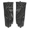 Dámske kožené rukavice čierne bata, čierna, 904-6131 - 16