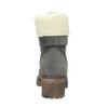 Dámske čižmy s kožúškom weinbrenner, šedá, 696-2168 - 16