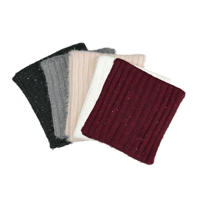 Kruhový šál s flitrami bata, viacfarebné, 909-0651 - 13
