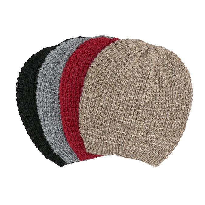 Pletená čiapka bata, viacfarebné, 909-0695 - 13