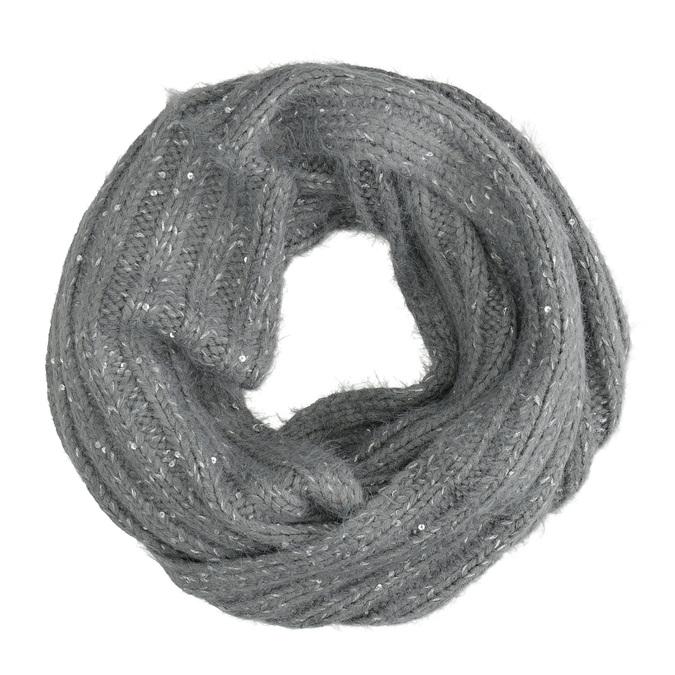 Kruhový šál s flitrami bata, viacfarebné, 909-0651 - 16