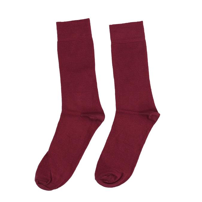 Pánske vínové ponožky bata, červená, 919-5302 - 26