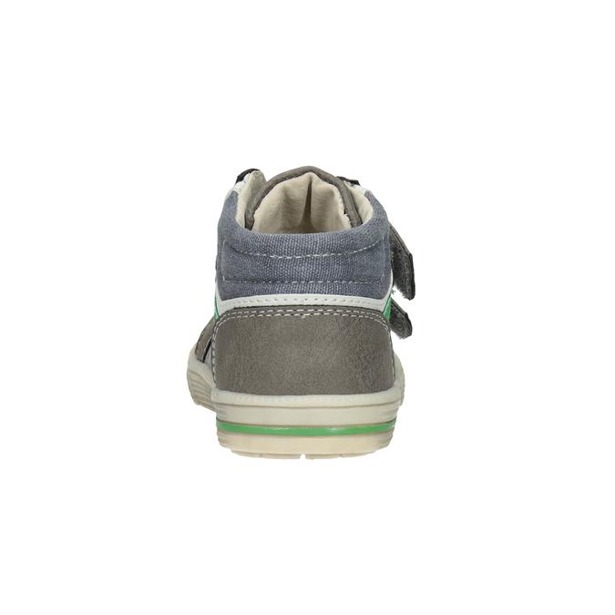 Členková detská obuv bubblegummers, šedá, 111-2614 - 16