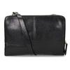 Kožená Crossbody kabelka so zipsom royal-republiq, čierna, 964-6082 - 16