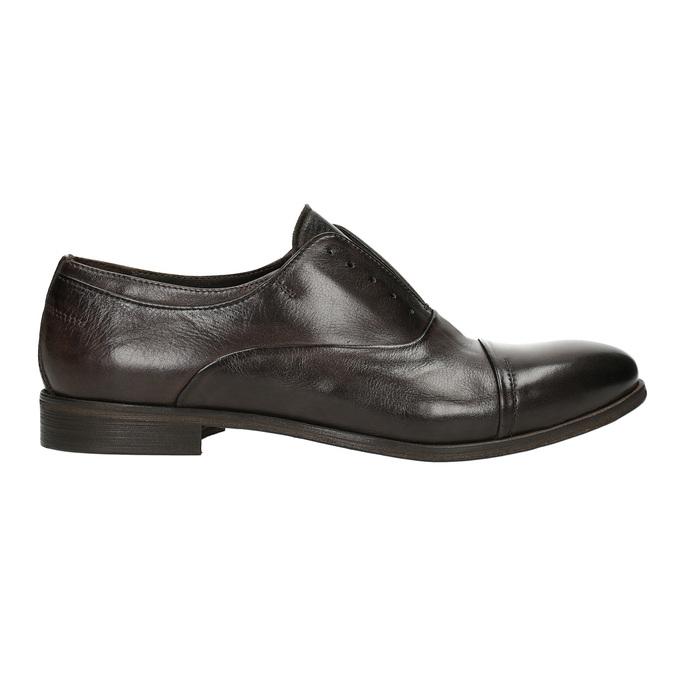 Celokožené Oxford poltopánky bata, hnedá, 826-4826 - 16