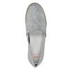 Strieborné kožené Slip-on topánky flexible, 536-1604 - 17