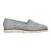Strieborné kožené Slip-on topánky flexible, 536-1604 - 16