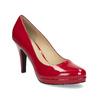 Červené lodičky z lakovanej kože insolia, červená, 728-5104 - 13