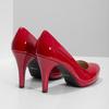 Červené lodičky z lakovanej kože insolia, červená, 728-5104 - 16