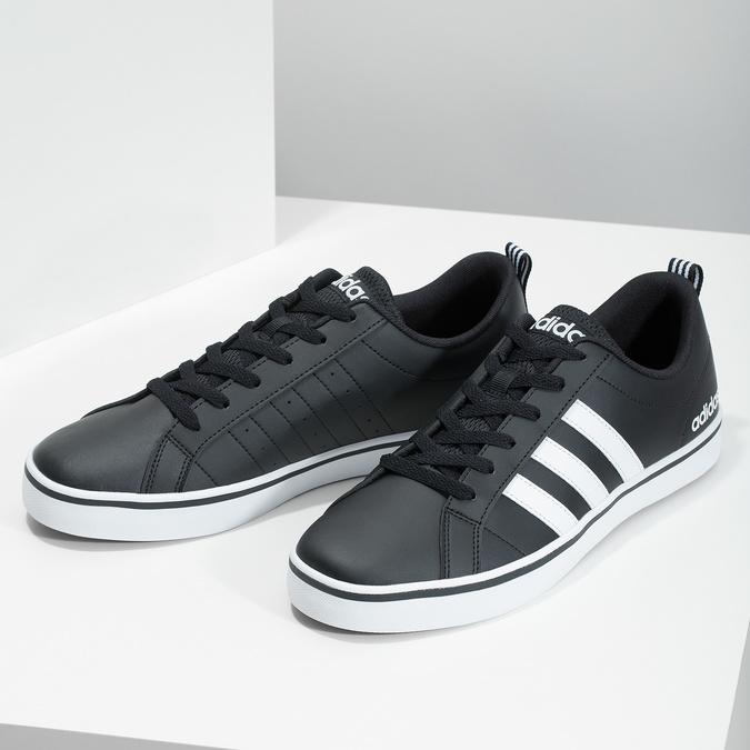 Ležérne pánske tenisky adidas, čierna, 801-6136 - 16
