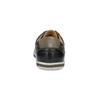 Pánske kožené tenisky bata, čierna, 846-6617 - 15