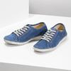 Ležérne kožené poltopánky weinbrenner, modrá, 546-9603 - 16