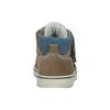 Detská členková kožená obuv bubblegummers, hnedá, 113-4607 - 16