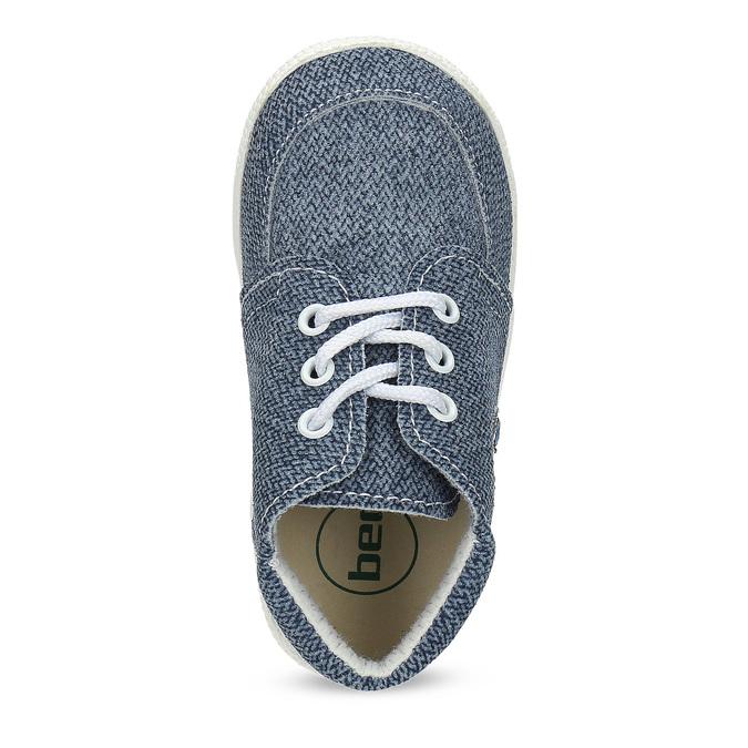 Detské členkové tenisky bata, modrá, 113-9609 - 17