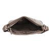 Kabelka so strapcom a prepletením gabor-bags, béžová, 961-8010 - 15