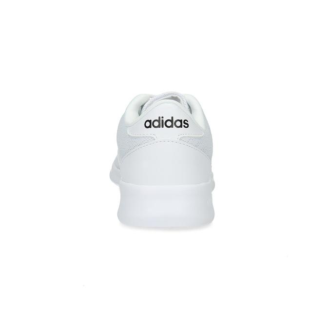 Biele dámske tenisky s čipkou adidas, biela, 509-1112 - 15