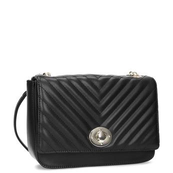 Čierna prešívaná kabelka s retiazkou bata-red-label, čierna, 961-6861 - 13