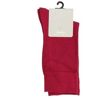 Červené pánske vysoké ponožky bata, červená, 919-5646 - 13
