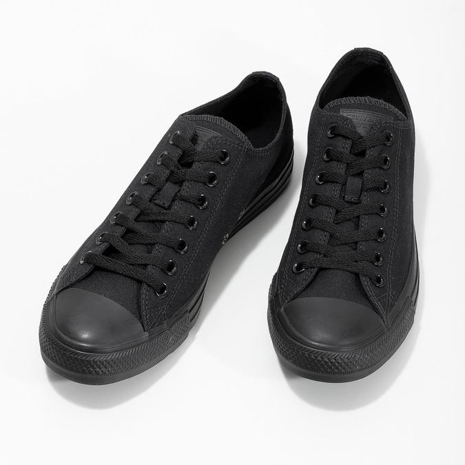 Čierne pánske textilné tenisky converse, čierna, 889-6279 - 16