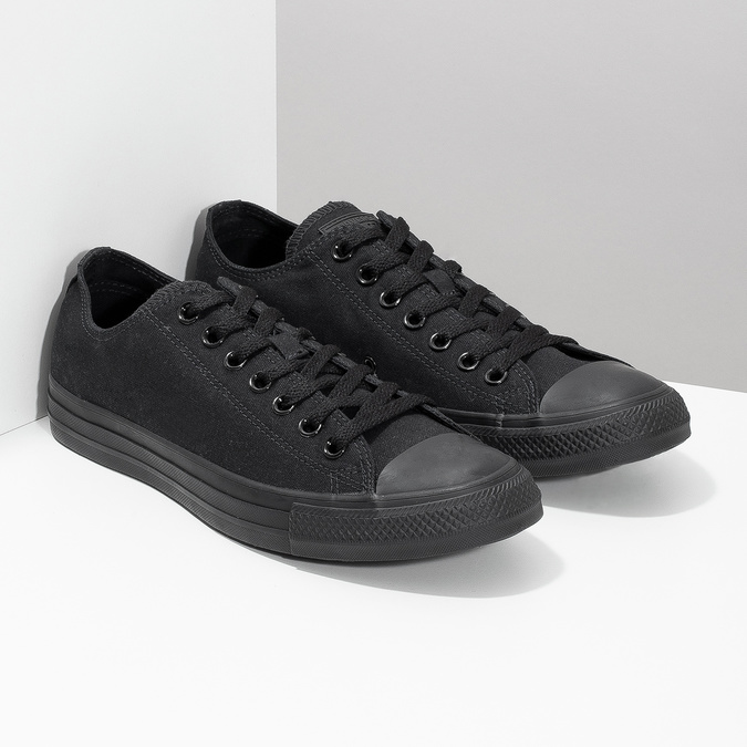 Čierne pánske textilné tenisky converse, čierna, 889-6279 - 26