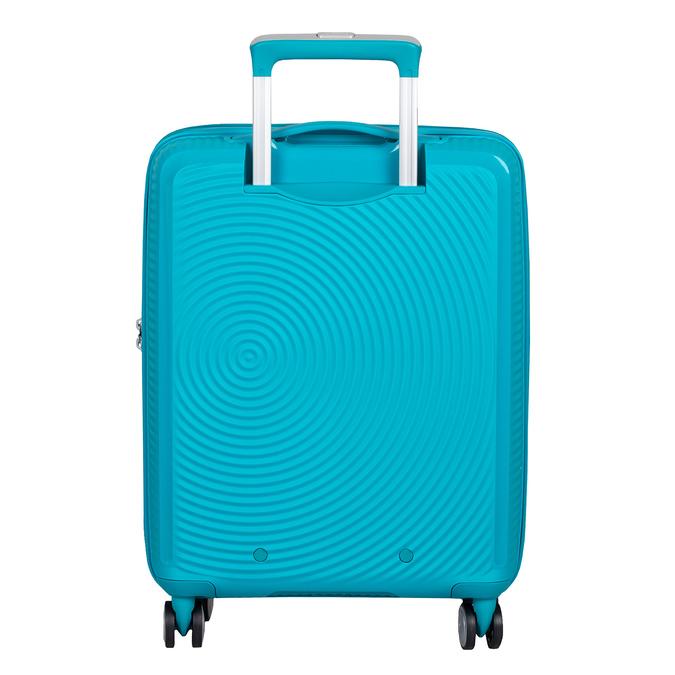 Tyrkysový škrupinový kufor american-tourister, modrá, 960-9615 - 26