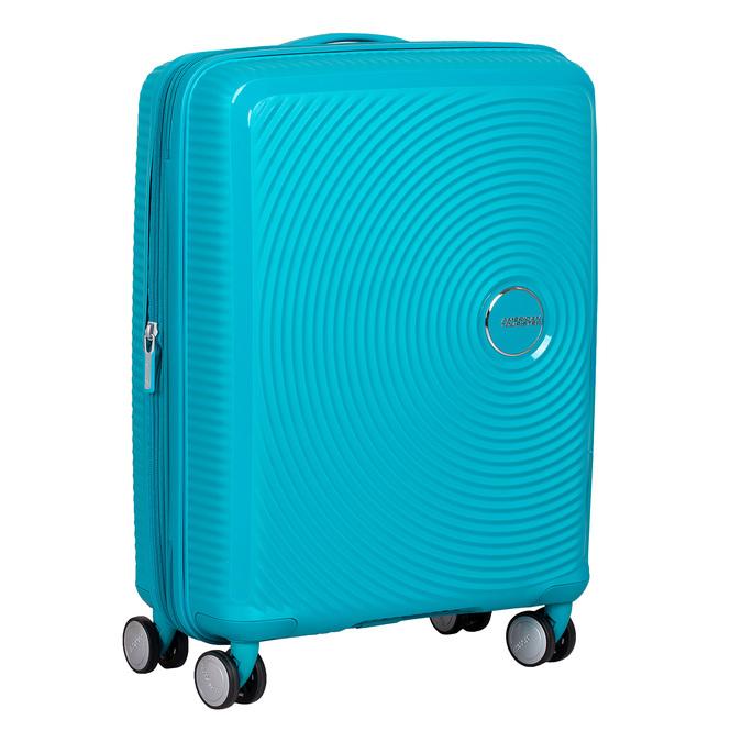 Tyrkysový škrupinový kufor american-tourister, modrá, 960-9615 - 13