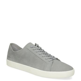Pánske šedé kožené tenisky vagabond, šedá, 826-2020 - 13
